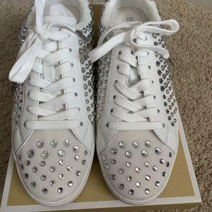 Michael Kors rhinestone sneakers